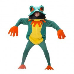 Disfraz de Rana Lujo para Hombre T-50