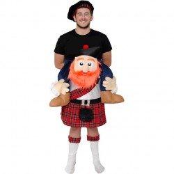 Disfraz de Escoces a Hombros adulto