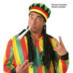 Gorro de Rastafari con Pelo