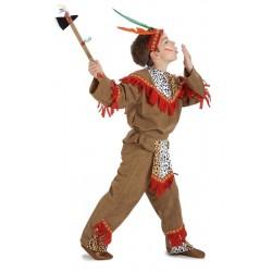 Disfraz de Indio lujo niño 3-4 años