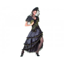Disfraz de Manola Negro...
