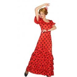 Disfraz de Flamenca Rojo