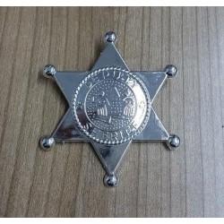 Estrella de Sheriff en Pvc