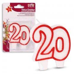 Vela Doble Nº20