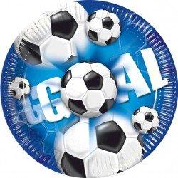 Platos de Futbol 10 un.