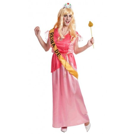 Disfraz de Princesa-Reina para Hombre