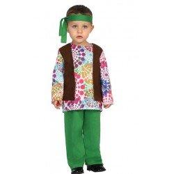 Disfraz de Hippie para bebe
