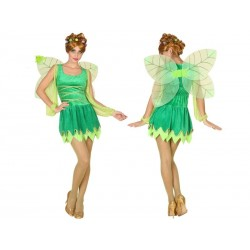 Disfraz de Hada Verde para mujer XL