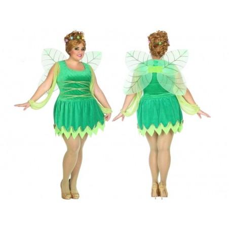 Disfraz de Hada Verde T-XXL