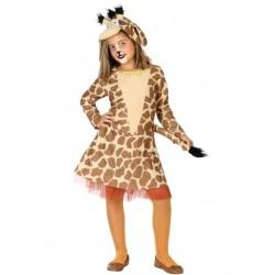 Disfraz de Jirafa para Niña 7-9 Años