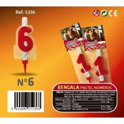 Bengala Pastel nº6