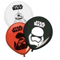 Globos Star Wars 8 un.