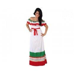 Disfraz de Mejicana Adulto T.XL
