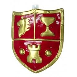 Escudo Medieval 53x45 cm.