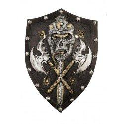 Escudo Medieval con Calavera