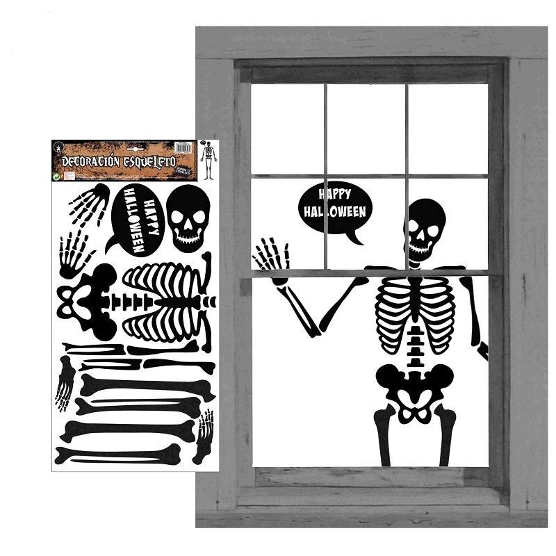Adhesivos esqueleto decoraci n for Adhesivos neveras decoracion