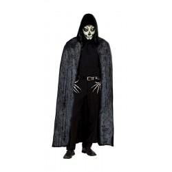Capa Negra de Terciopelo de 140 cm.