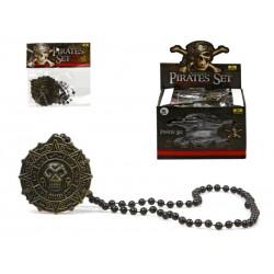 Collar de Pirata con Medallón