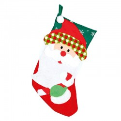 Bota Papa Noel 46 cm.