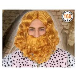 Peluca con Barba de Rey...