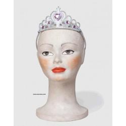 Tiara Plata Princesa