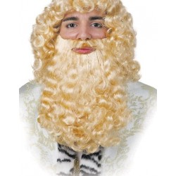 Barba Rubia de Rey Mago Adulto
