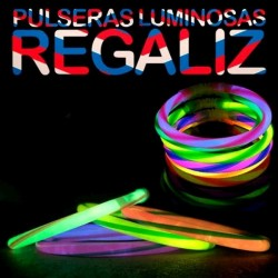 Pulseras Luminosas Regaliz...