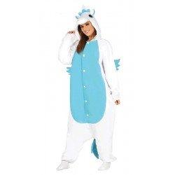 Disfraz de Unicornio Azul Mujer T.L