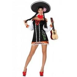 Disfraz de Mariachi Mujer T.XL