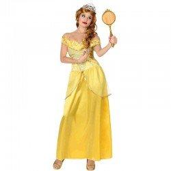 Disfraz de Princesa Amarilla adulto