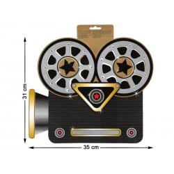 Decoración Cámara de Filmar en Carton