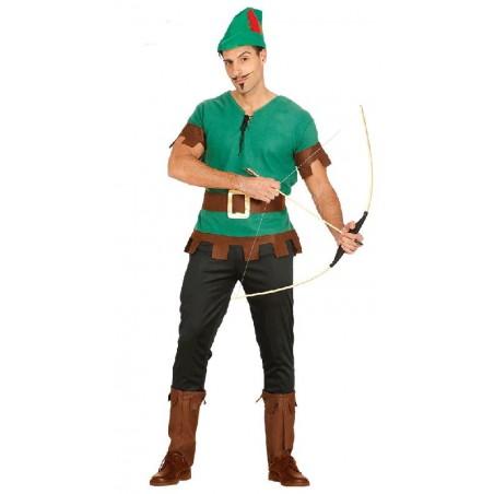 Disfraz de Bandido del Bosque Adulto
