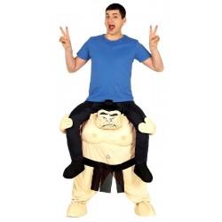Disfraz de Sumo con Persona a Hombros