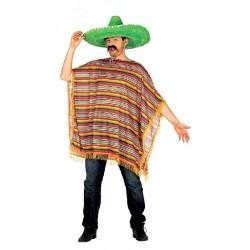 Poncho Mejicano para hombre