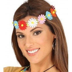 Diadema /Cinta con Flores Multicolor