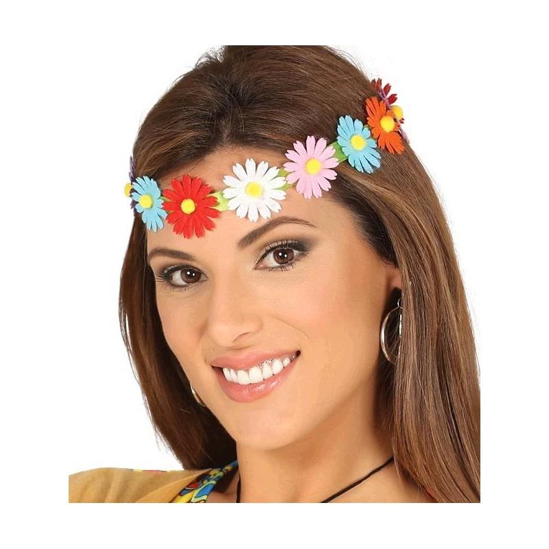 Disdema /Cinta con Flores Multicolor