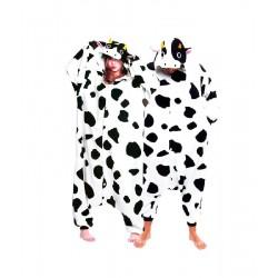 Disfraz de Vaca Pijama Adulto