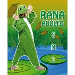Disfraz de Rana Pijama Adulto