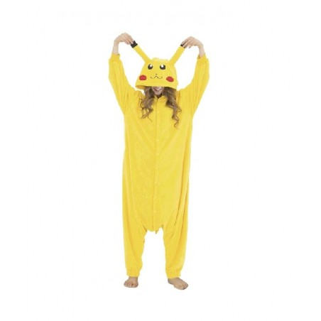 Disfraz de Chinchilla Electrica Pijama