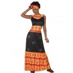 Disfraz de Africana para mujer