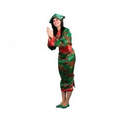 Disfraz de China Verde para...