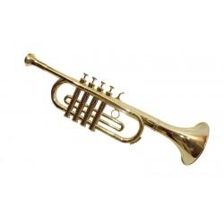 Trompeta 4 Notas Oro 41 cm.