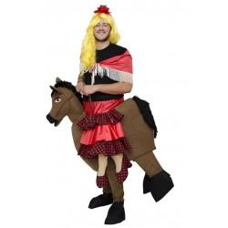 Disfraz de Rociera a Caballo para Hombre