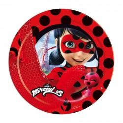 Platos Ladybug 8 un.