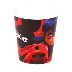 Vasos Ladybug 8 un.
