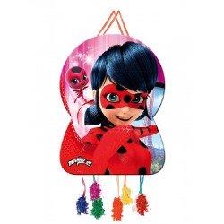 Piñata Ladybug Silueta
