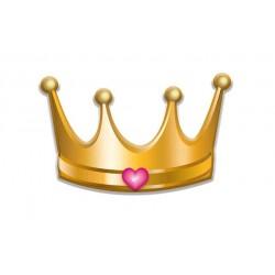Coronitas de Princesa 6 unid.