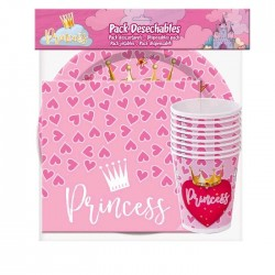 Pack Desechables de Princesas