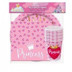 Pack Desechables de Princesas