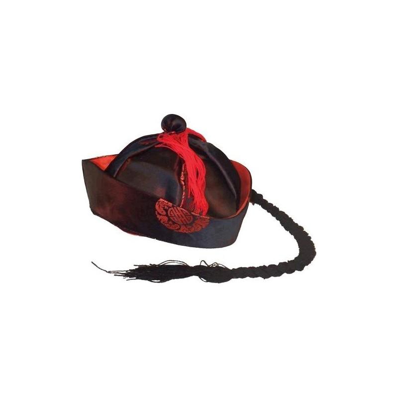 Sombrero Chino Mandarin de Tela 7dbe9bdab46